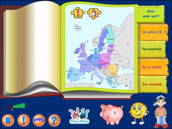 JOACĂ-TE ŞI DESCOPERĂ CU E.U. - Uniunea Europeană pe înţelesul copiilor