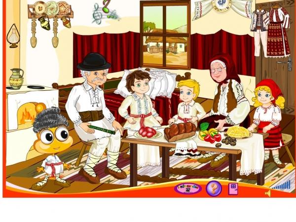 PitiClic în satul bunicilor - Tradiţii şi obiceiuri populare