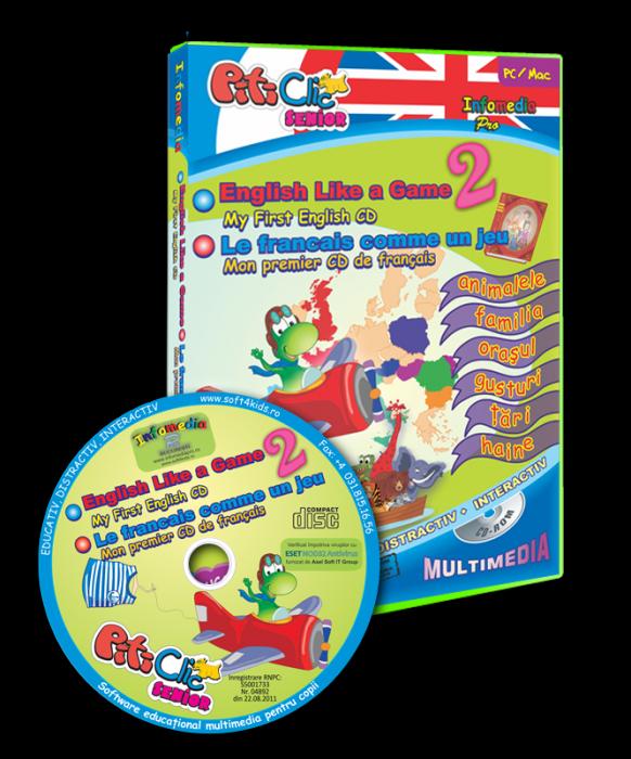 PitiClic - Engleza şi franceza ca un joc - partea a II-a